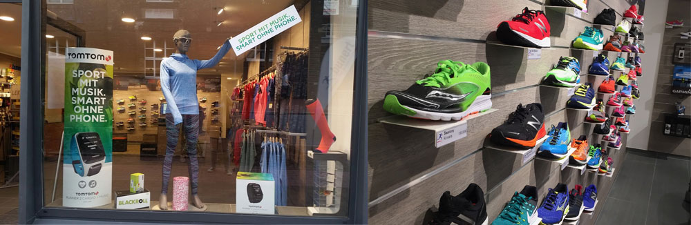 Laufsport Bunert Wesel | RUN1ST Local.Online.Shopping.